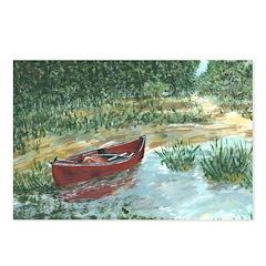 Red Canoe Postcards