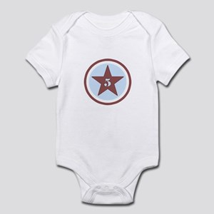 Number Five Infant Bodysuit