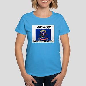 Minot North Dakota Women's Dark T-Shirt