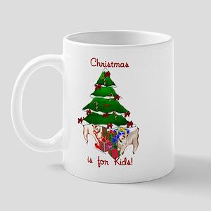Pygmy Kids Open Gifts! Mug