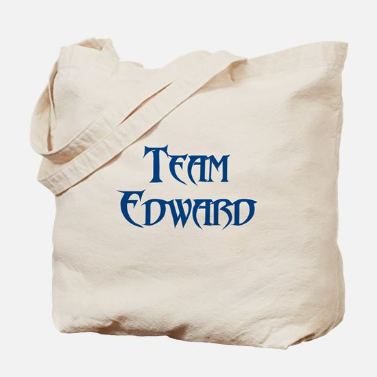 Funny I heart edward Tote Bag