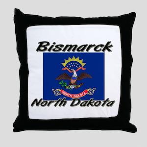 Bismarck North Dakota Throw Pillow