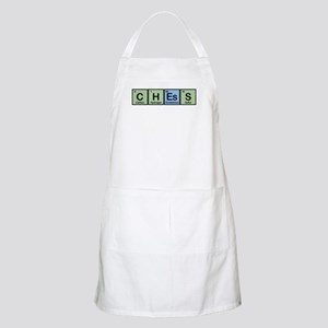 Chess made of Elements BBQ Apron