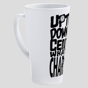 Uptown Downtown Center City 17 Oz Latte Mug