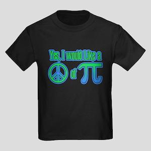 Peace of Pie Kids Dark T-Shirt