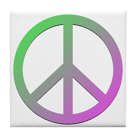 Peace! Tile Coaster
