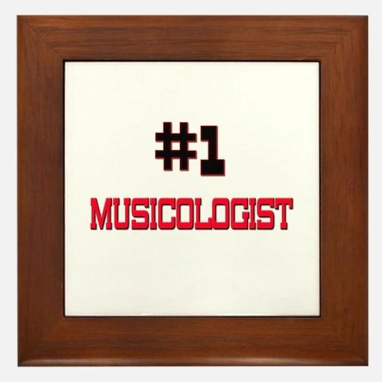 Number 1 MUSICOLOGIST Framed Tile