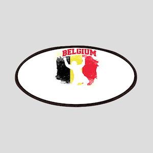 Football Worldcup Belgium Belgians Soccer Te Patch