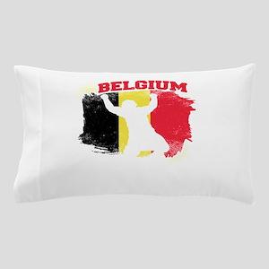 Football Worldcup Belgium Belgians Soc Pillow Case