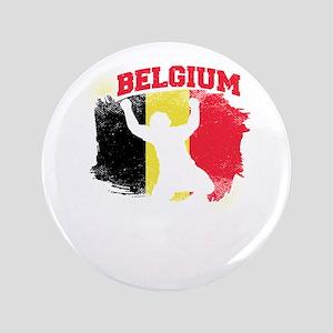 "Football Worldcup Belgium Belgians Soc 3.5"" Button"