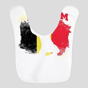 Football Worldcup Belgium Belgi Polyester Baby Bib