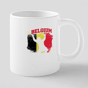 Football Worldcup Belgium Belgians Soccer Tea Mugs