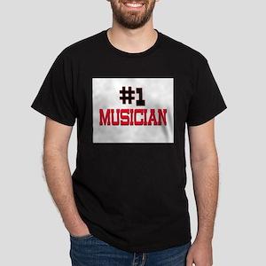 Number 1 MUSICIAN Dark T-Shirt