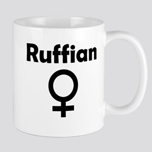 Ruffian Female Symbol Mug
