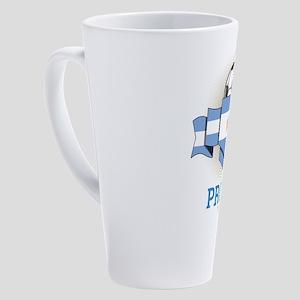 Football Argentines Argentina Socc 17 oz Latte Mug