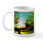 Peaceful Clouds and Sun Mug / Cup