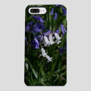 WhiteNBlue-Rect iPhone 7 Plus Tough Case