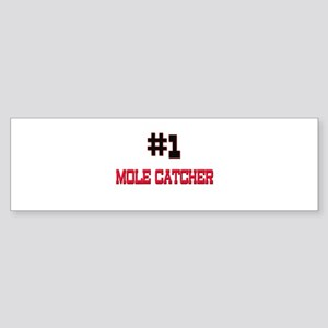 Number 1 MOLE CATCHER Bumper Sticker