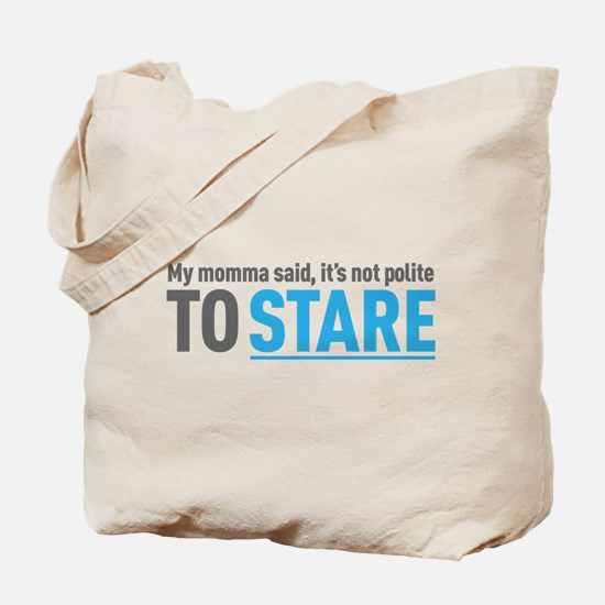 It's not polite Tote Bag