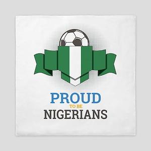 Football Nigerians Nigeria Soccer Team Queen Duvet