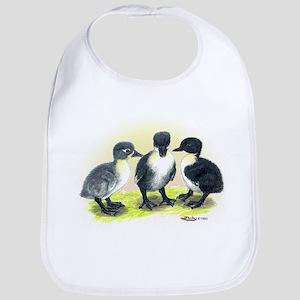 Swedish Duck Ducklings Bib