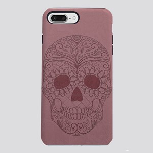 Pink Sugar Skull iPhone 7 Plus Tough Case