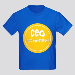 CEO - not sweetie-pie Kids Dark T-Shirt