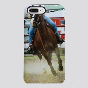 Barrel Race Horse iPhone 7 Plus Tough Case