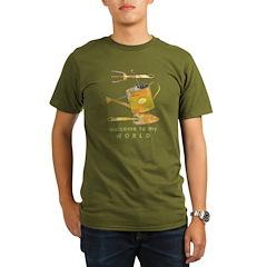 Garden Tools Organic Men's T-Shirt (dark)