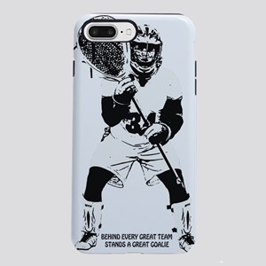Lacrosse Goalie Behind Ev iPhone 7 Plus Tough Case