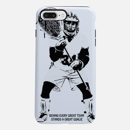 Lacrosse Goalie Behind Ev iPhone 7 Plus Tough Case