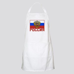Russian Flag BBQ Apron