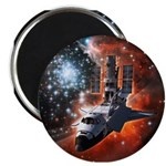 "Hubble Service Mission 4 2.25"" Magnet (100 pack)"