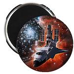 "Hubble Service Mission 4 2.25"" Magnet (10 pack)"