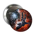 "Hubble Service Mission 4 2.25"" Button (100 pack)"
