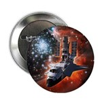 """Hubble Service Mission 4 2.25"""" Button"""