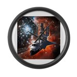 Hubble Service Mission 4 Large Wall Clock