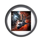 Hubble Service Mission 4 Wall Clock