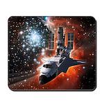 Hubble Service Mission 4 Mousepad