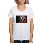 Hubble Service Mission 4 Women's V-Neck T-Shirt