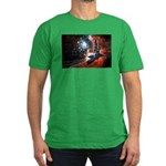 Hubble Service Mission 4 Men's Fitted T-Shirt (dar