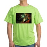 Hubble Service Mission 4 Green T-Shirt