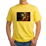 Hubble Service Mission 4 Yellow T-Shirt