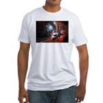 Hubble Service Mission 4 Fitted T-Shirt