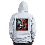 Hubble Service Mission 4 Zip Hoodie
