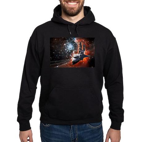 Hubble Service Mission 4 Hoodie (dark)