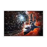 Hubble Service Mission 4 Mini Poster Print