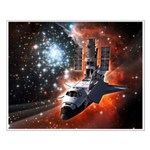 Hubble Service Mission 4 Small Poster