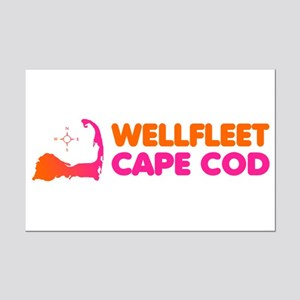 Wellfleet Cape Cod Mini Poster Print