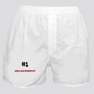 Number 1 MEDICAL SALES REPRESENTATIVE Boxer Shorts